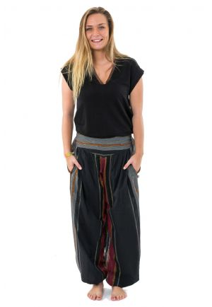 Pantalon sarouel V indian aladin baba cool hippie chic