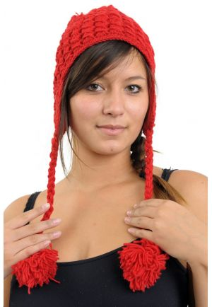 Bonnet nepal Spirit pure laine 4 couleurs